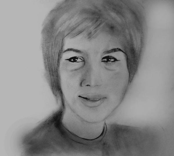 Aretha Franklin by tikaninua